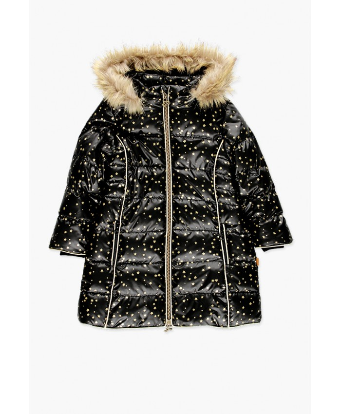 Boboli Long Coat Black